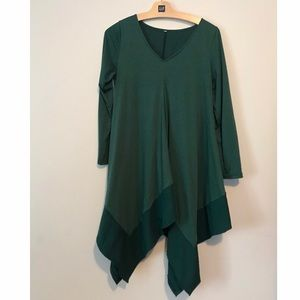 Dresses & Skirts - Green tunic dress